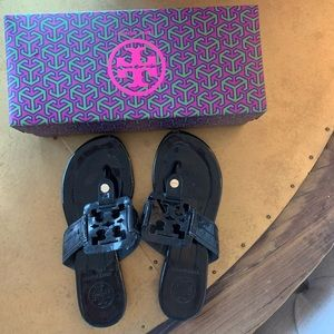 Tory Burch sandals. 5